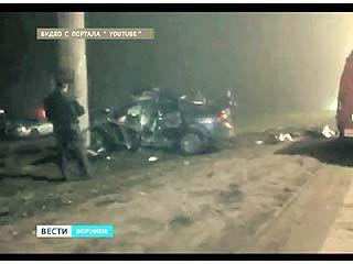 В Воронеже выясняют причины страшной аварии, произошедшей на Матросова