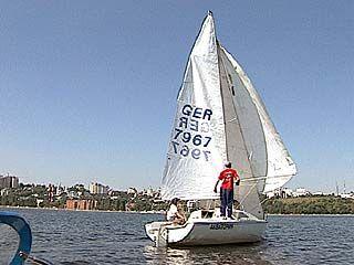 В Воронеже завершатся соревнования по парусному спорту