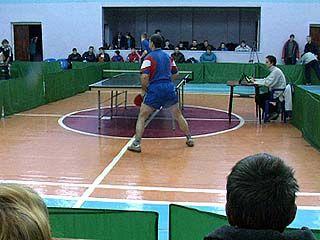 В Воронеже завершился чемпионат области по настольному теннису