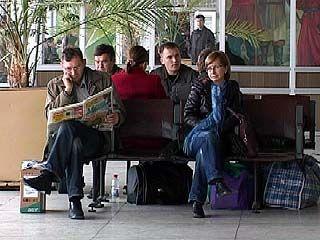В Воронежском аэропорту 200 пассажирам пришлось задержаться на сутки