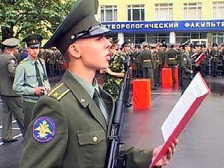 В Воронежском авиационно-инженерном университете прошла присяга