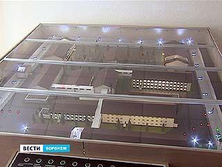 В Воронежском институте ФСИН представлен макет нового следственного изолятора