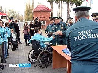 В Воронежском Управлении МЧС состоялся необычный выпуск