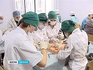 В Воронежской медакадемии прошла Всероссийская олимпиада по хирургии