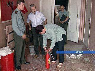 В Воронежской области 18% школ не оборудованы пожарной сигнализацией