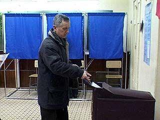 В Воронежской области на 10 часов проголосовало 7,89% избирателей