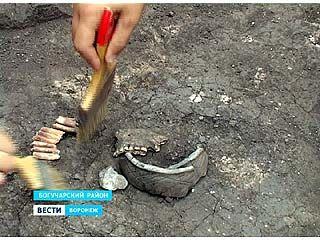 В Воронежской области обнаружены новые захоронения бронзового века