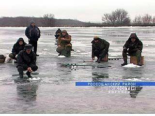 В Воронежской области прошли соревнования по подлёдному лову