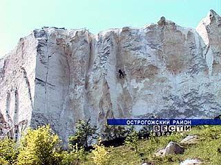 В Воронежской области прошли соревнования по технике горного туризма