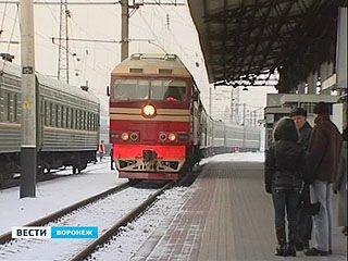 В Воронежской области вновь отменяют пригородные поезда