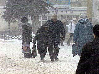 В Воронежскую область пришла зима
