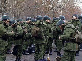 В войска отправилась многочисленная партия воронежских призывников