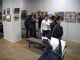 В выставочном зале Союза художников новая экспозиция