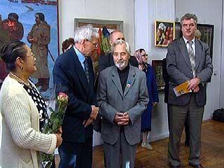 В зале на Пушкинской открылась персональная выставка Юрия Внодченко