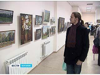 """В зале Союза художников открыли выставку """"Пленэр"""""""