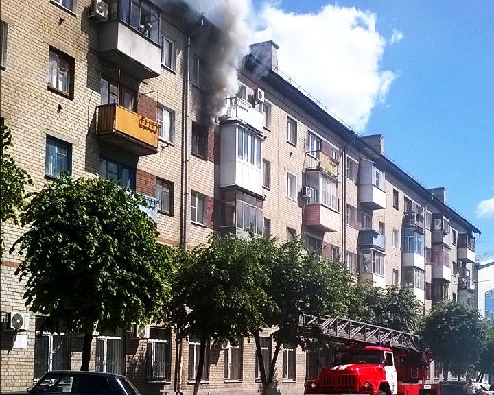 В здании, где находится Прокуратура Коминтерновского района, случился пожар