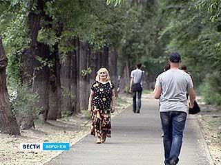 В Железнодорожном районе заменили 15 тысяч квадратных метров тротуаров