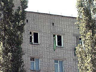 В жилом квартале райцентра Подгоренский прогремел взрыв