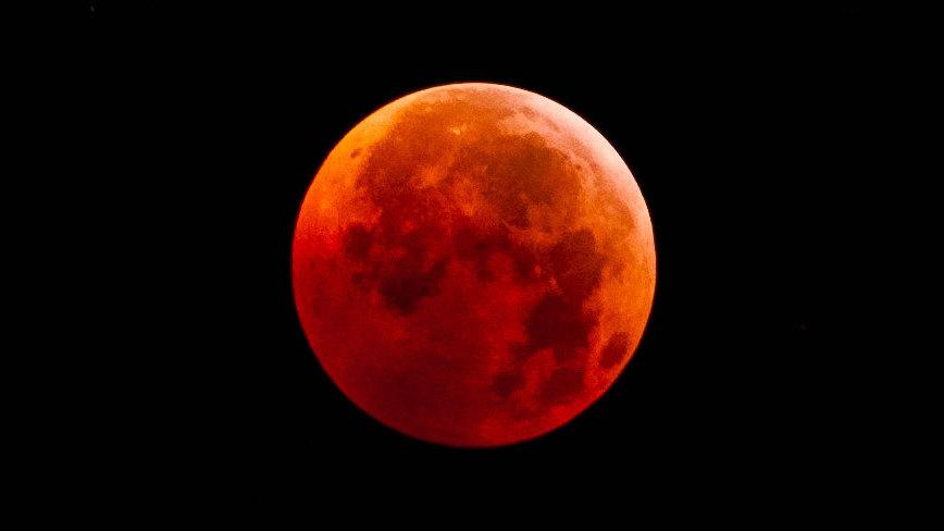«Кровавая Луна» и яркий Марс. Как воронежцам наблюдать за уникальными явлениями