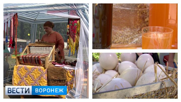 Страусиные яйца и народные костюмы. Чем удивляли воронежцев на фестивале пчеловодов