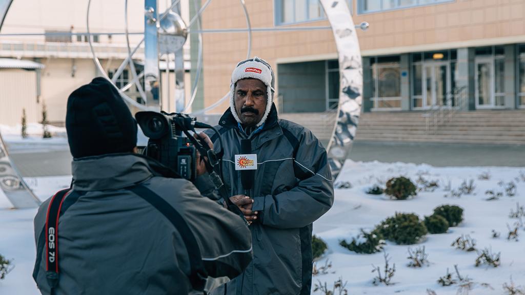 Нововоронежскую АЭС посетили индийские журналисты телевизионной программы Sun News