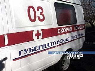 Вблизи Верхнего Мамона пассажирский автобус врезался в Камаз