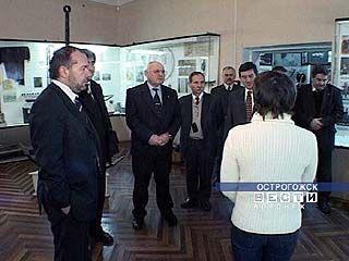Венгры посетили Острогожск