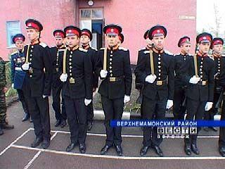 Верхнемамонскому кадетскому корпусу исполнился ровно год