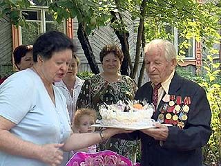 Ветерану Серафиму Лошакову исполнилось 100 лет