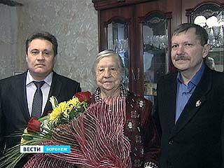 Ветерану Великой Отечественной войны Анне Филипповне Черногорской исполнилось 90 лет