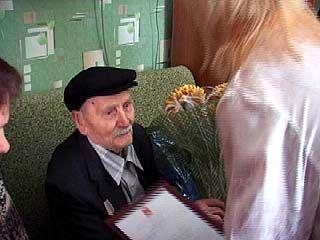 Ветерану войны Степану Ивановичу Чичканову исполнилось 100 лет