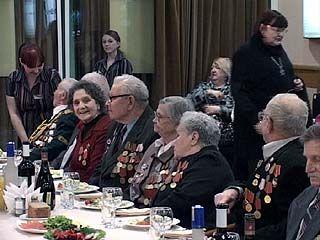 Ветераны ВОВ отметили 67 годовщину освобождения Воронежа