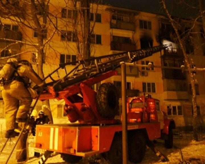 ВИДЕО: как горел жилой дом в Воронеже