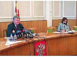 Вице-губернатор Александр Цапин встретился с журналистами