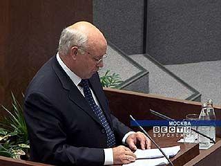 Владимир Ключников принял участие в заседании Совета федерации