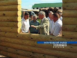 Владимир Кулаков посетил Калачеевский район