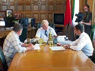 Владимир Кулаков: В Воронеже будет построено несколько цементных заводов