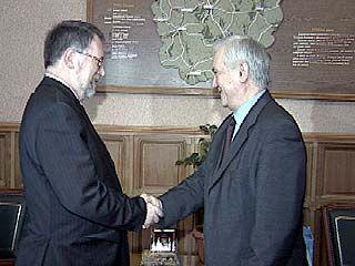 Владимир Кулаков встретился с послом Чехии