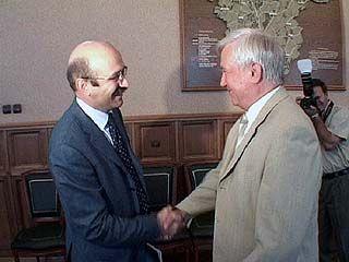 Владимир Кулаков встретился с руководством Внешторгбанка