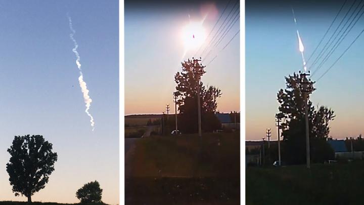 Астроном рассказал, где мог упасть увиденный воронежцами метеорит