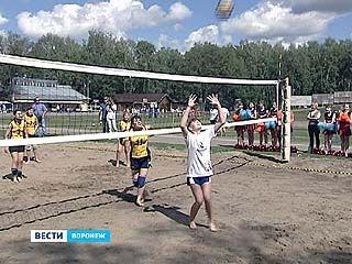 """Волейбольный праздник устроили на спортивной базе """"Олимпик"""""""