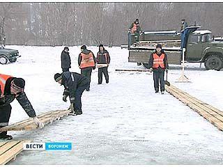 Воронеж готовится к крещенским праздникам