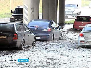 Воронеж, как и прежде, к ливням не готов