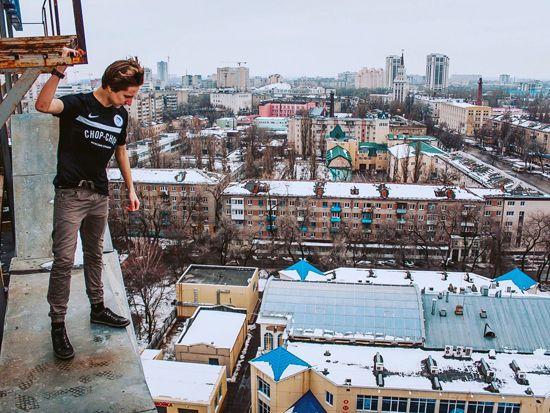 Воронеж, который видят только руферы