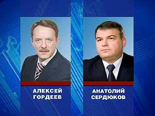 Воронеж посетил министр обороны России Анатолий Сердюков