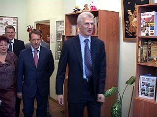 Воронеж посетил министр образования и науки страны Андрей Фурсенко