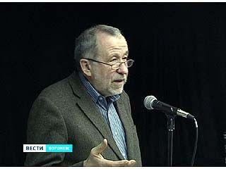 Воронеж посетил журналист и писатель Владимир Снегирев