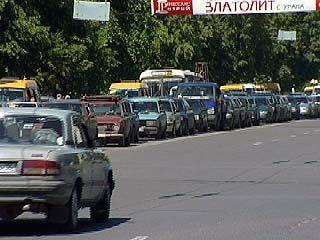 Воронеж утопает в транспортных потоках