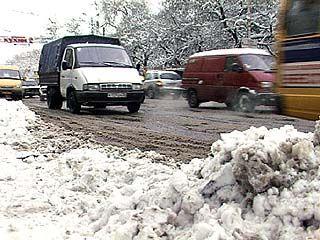 Воронеж в очередной раз оказался не готов к снегопаду