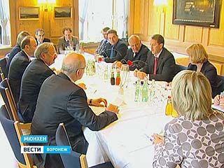 Воронежская делегация во главе с губернатором Алексеем Гордеевым прибыла в Мюнхен